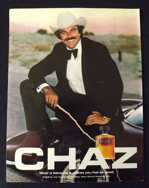 1981 Chaz Cologne Ad