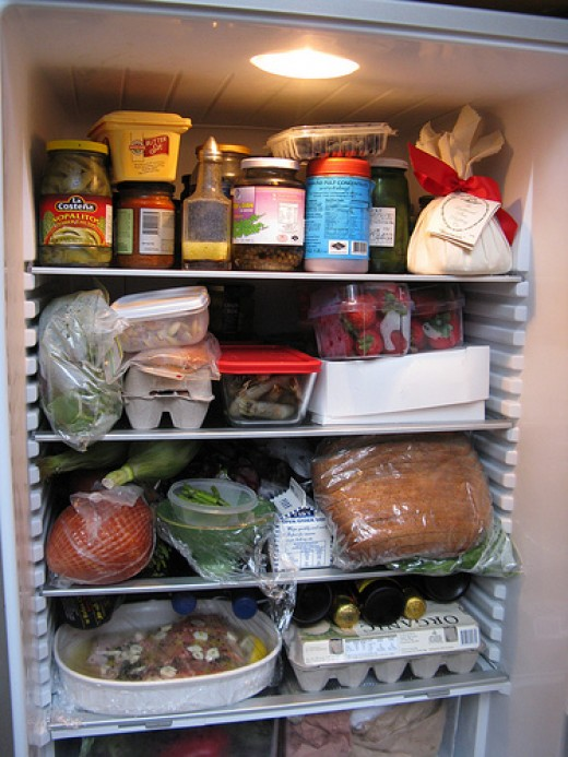 Avoid putting too much junk in your fridge