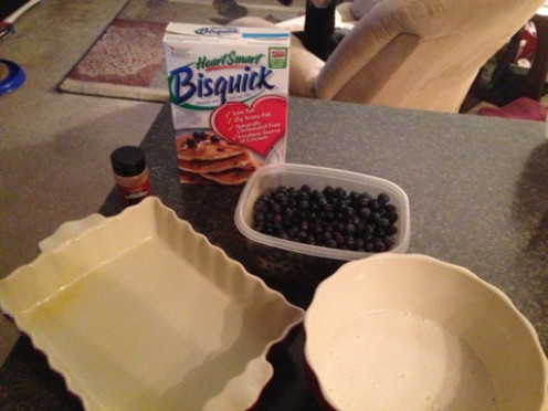 There are not many ingredients needed in this recipe.  It is an extremely easy and healthy treat.