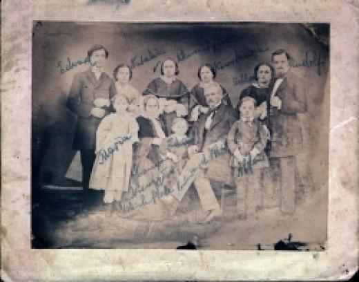 Plate Family - 1870s by Piotr Wojcicki