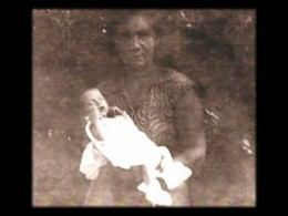 Lastheart and her Grandmother 1958