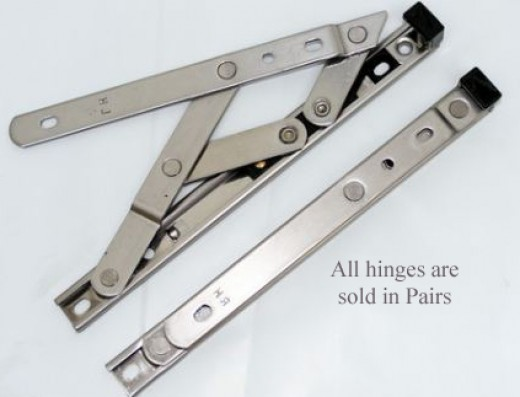pvc window hinges
