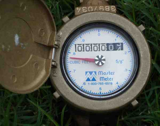 - Your Typical, Domestic Water Meter -