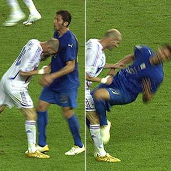 Zidane headbutt Materazzi