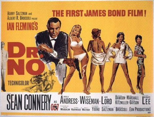 """Dr. No"" promotional poster"