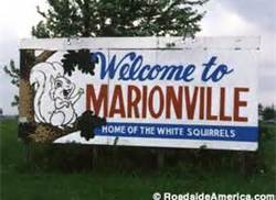 Marionville, Missouri Home of the White Squirrels