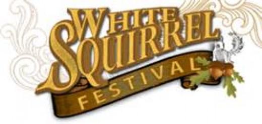 White Squirrels have their own festivals