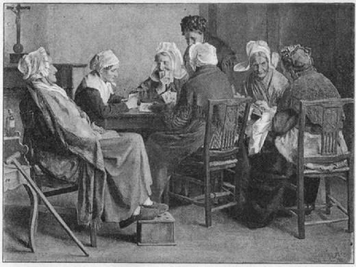elderly women together