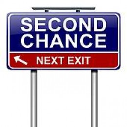 We all have second chances to make changes in our lives - Every single second of every day.