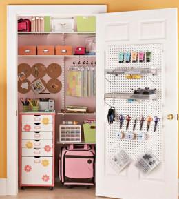 Closet Craft Area
