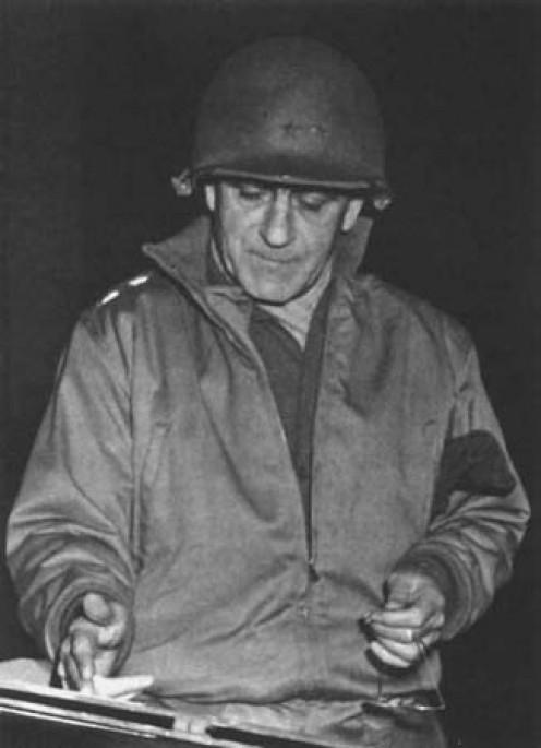 Gen. Gerow during the Huertgen Campaign
