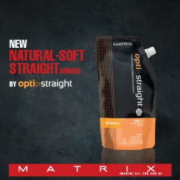 Opti Straight multi-ionic technology helps conditions your straightened hair . Description Matrix Opti Straight Ionic Hair Straightening ...
