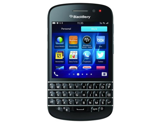 BlackBerry Q10 - the latest generation QWERTY smartphone from BlackBerry