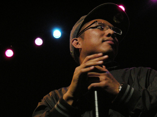 Geologic, or Prometheus Brown, MC from Blue Scholars.