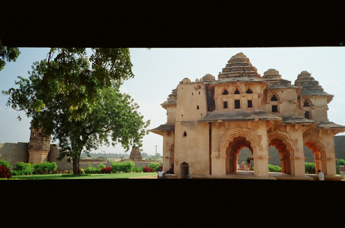 Lotus Mahal in Hampi - abode of the Vish Kanya in 'City of Victory'