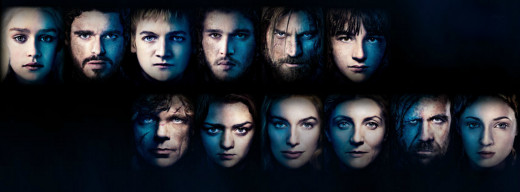 Game of Thrones main characters