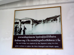 The River Kwai War Museum has pictures of the bridge after allied bombing raids.