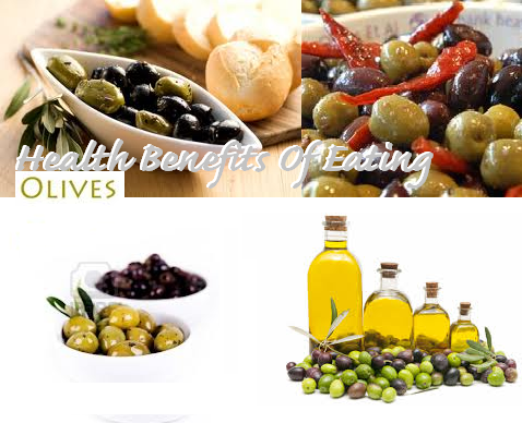 Benefits of eating Olives