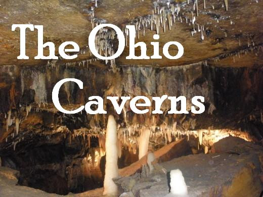 The Ohio Caverns is a great, cool underground place to visit on a warm day.