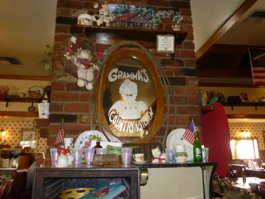 Grandma's mirror, so cute!