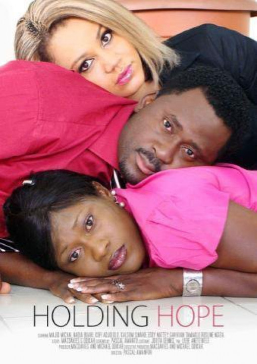 Front cover of the movie holding hope