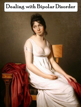 Portrait of a Young Woman in White by Circle of Jacques-Louis David