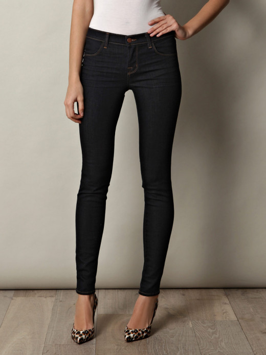 Well-fitted and Flattering Pair of Jeans