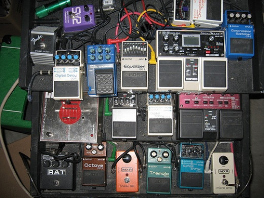 """""""Play without all of these pedals on?!? But that's how I get my sound!"""""""