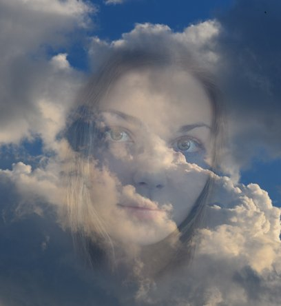 Face in the Clouds from Tony DeLorger