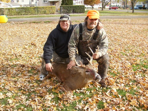 My stepdad and Uncle hunt for our dinner!