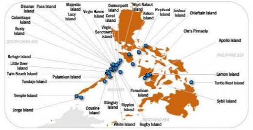 Code Names of Islands for Sale way back 2003 and their approximate location. Our 2013 listings now includes islands in Northern Luzon and around Visayas Region.