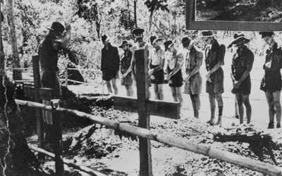 funeral of a POW