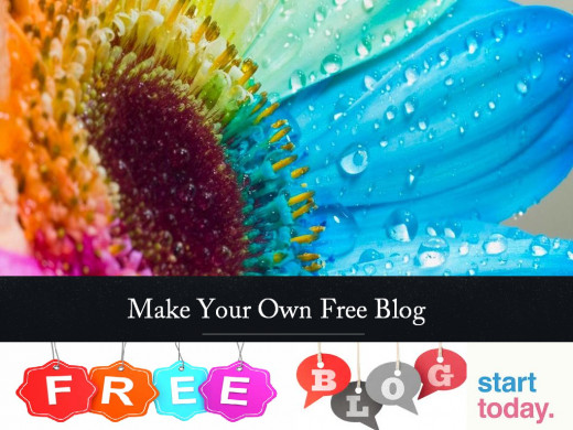 Create your free blog
