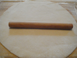 Fig.2. Thin sheet of dough