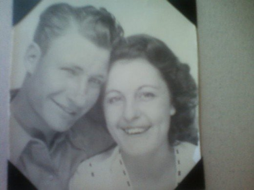 My grandparents on the day they got married