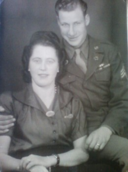 my papa and his girlfriend in Germany during WWII