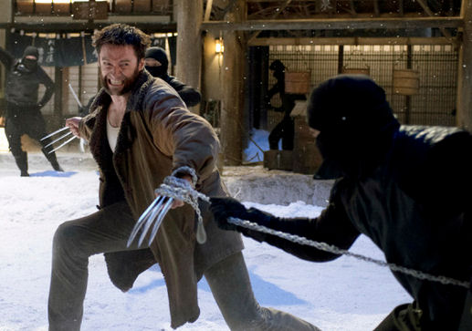 The Wolverine and the Black Samurai