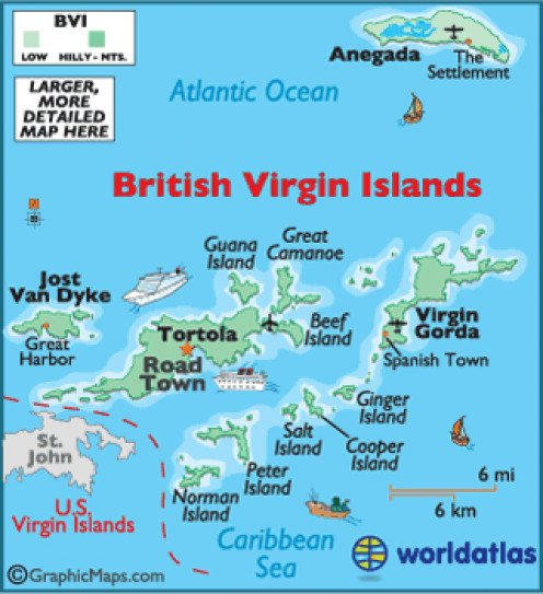 Tortola British Virgin Islands White Pages