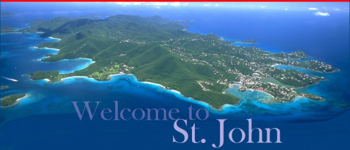 St. John Island part of  the U.S. Virgin Islands.