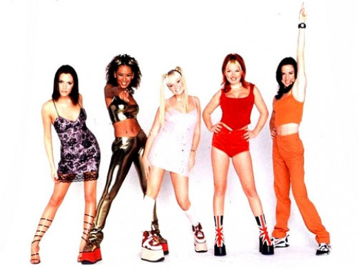 If you were around during the 90's, you probably still remember the crazy platform shoes that the Spice Girls were known for wearing.