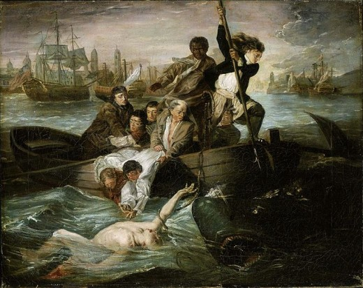 Henry Sargent - Watson and the Shark (1777)