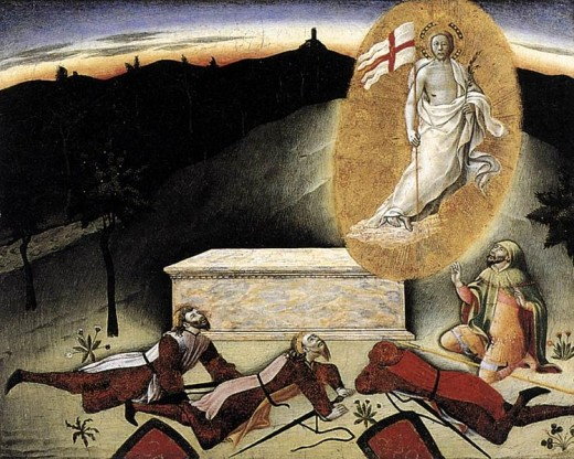 Master of the Osservanza - The Resurrection (1445)