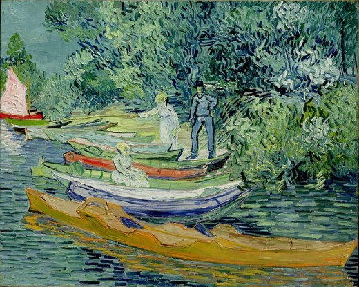 Vincent van Gogh - Bank of the Oise at Auvers (1890)