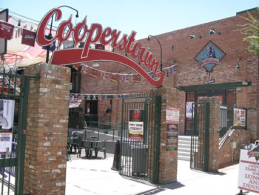 The outside of Cooperstown