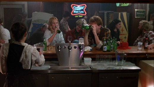 There's something you don't see often. Product placement in a Friday the 13th film.