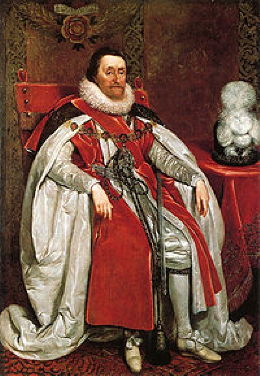 James I, the King Guy Fawkes wanted to assassinate
