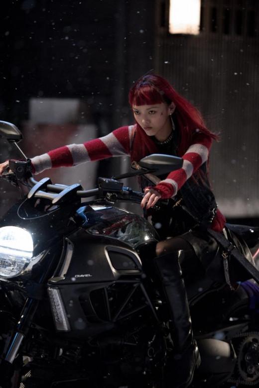Rila Fukushima as Yukio in The Wolverine