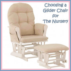 Gliders For Nursery, Nursing Chair Comfort for Mom and Baby