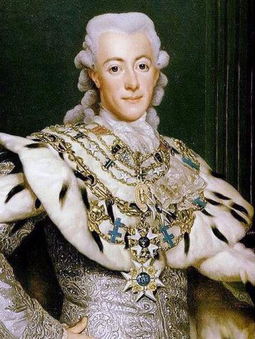 Portrait of Gustav III by Alexander Roslin