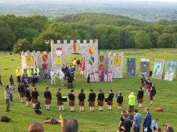 The opening of the Cotswold Games, the origin of which dates back to the early 17th century
